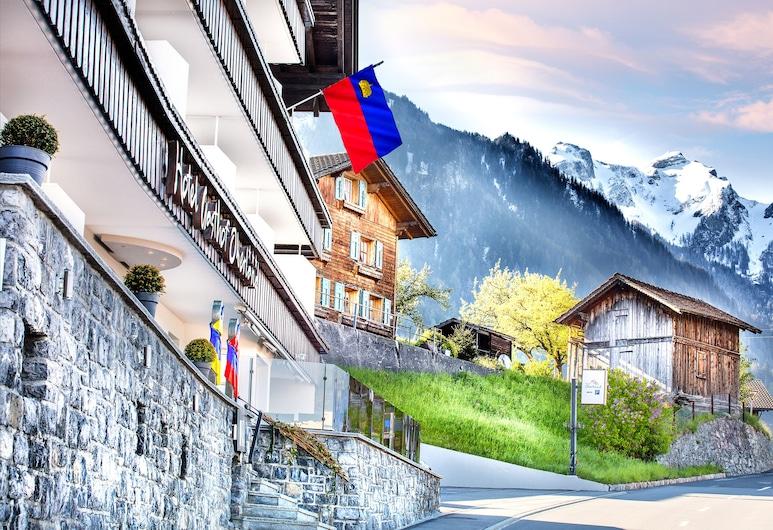 Hotel Oberland, Triesenberg, Hotellinngang