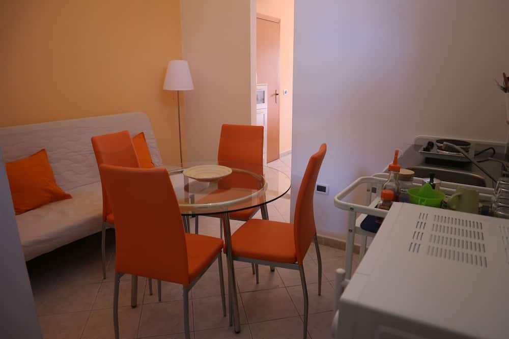Appartement, 1 grand lit et 1 canapé-lit - Salle de séjour