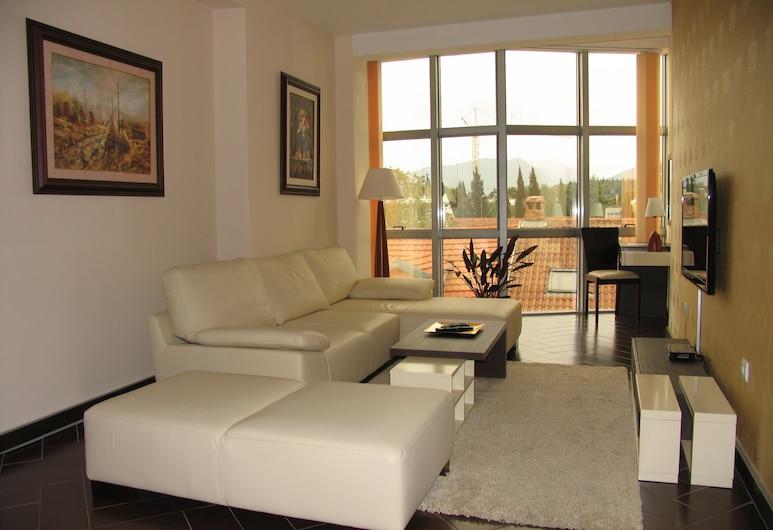 Hotel Alexandar Lux, Podgorica, Deluxe Suite for 1 person, Living Room