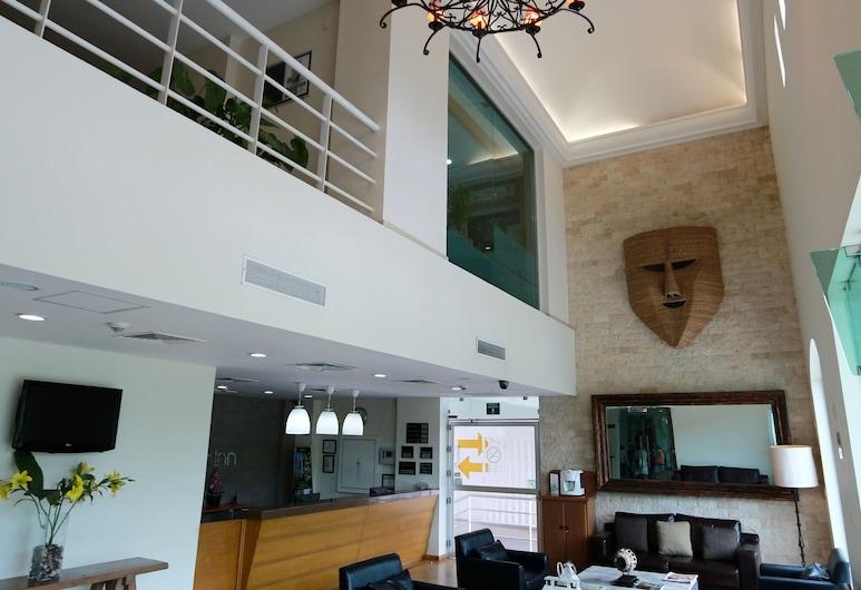 La Venta Inn Villahermosa Hotel, Villahermosa, Zona con asientos del vestíbulo