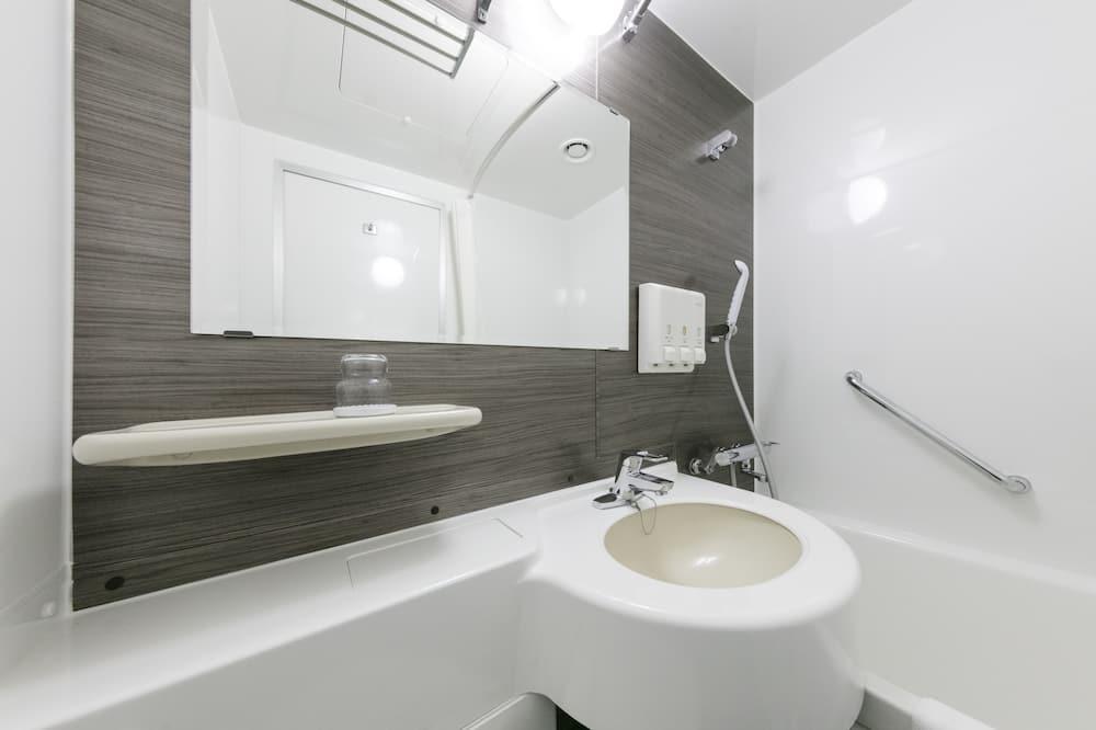 Szoba kétszemélyes ággyal, dohányzó (15.6 ㎡) - Fürdőszoba