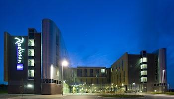 Derby bölgesindeki Radisson Blu Hotel East Midlands Airport resmi