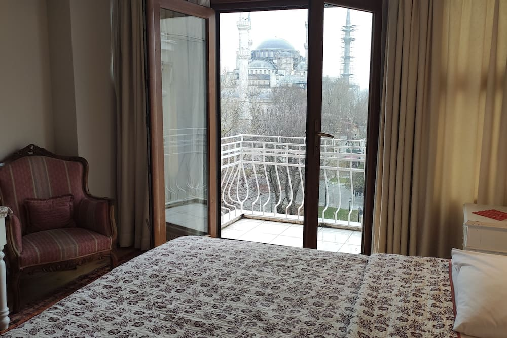 Pokoj Superior s dvojlůžkem, balkon - Výhled z balkonu