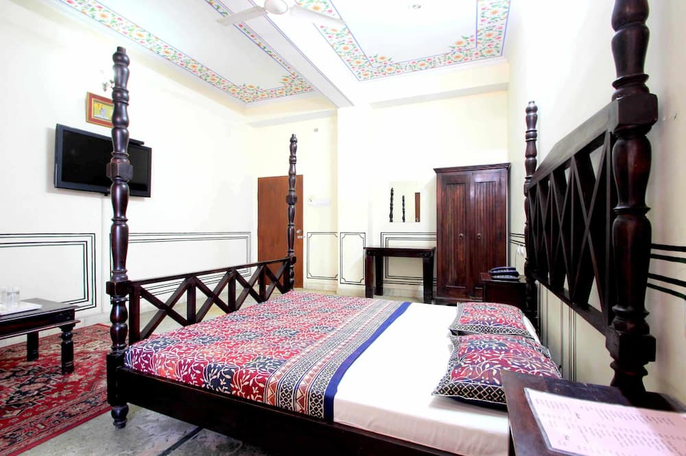 Quarto Deluxe, 1 cama de casal - Sala de Estar