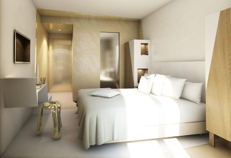 Hôtel Le Malown, Parijs, Deluxe eenpersoonskamer, Kamer