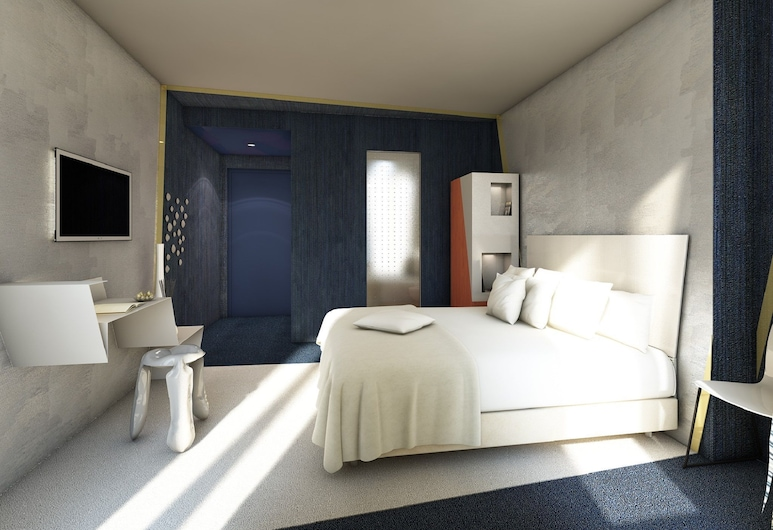Le Malown 酒店, 巴黎, 客房