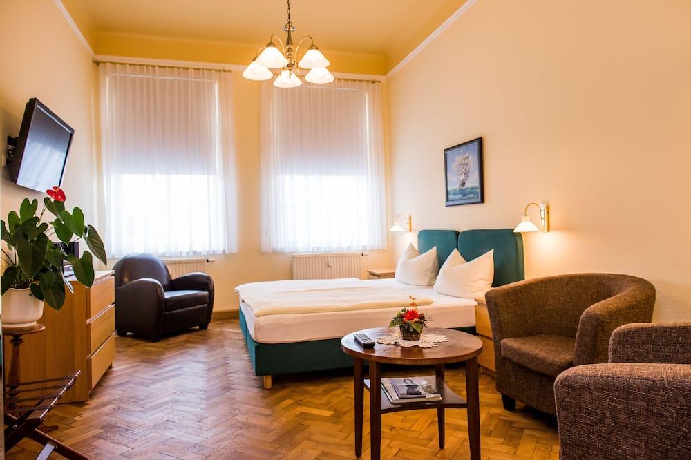 Apartamentai, 2 miegamieji - Svečių kambarys