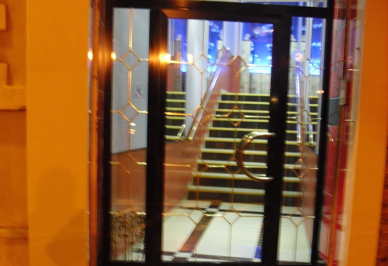 Hotel Esperia, Sanremo, Hotellinngang