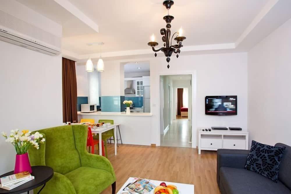 สแตนดาร์ดอพาร์ทเมนท์, 2 ห้องนอน - ห้องนั่งเล่น