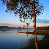 Villa, divas guļamistabas, pirts, skats uz ezeru (Final Cleaning Included) - Terase/iekšējais pagalms