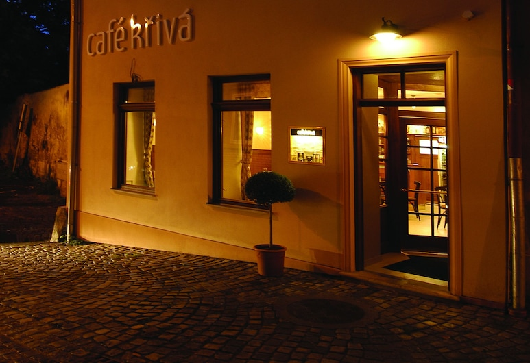 Pension Krivá, Olomouc, Hotel Front – Evening/Night
