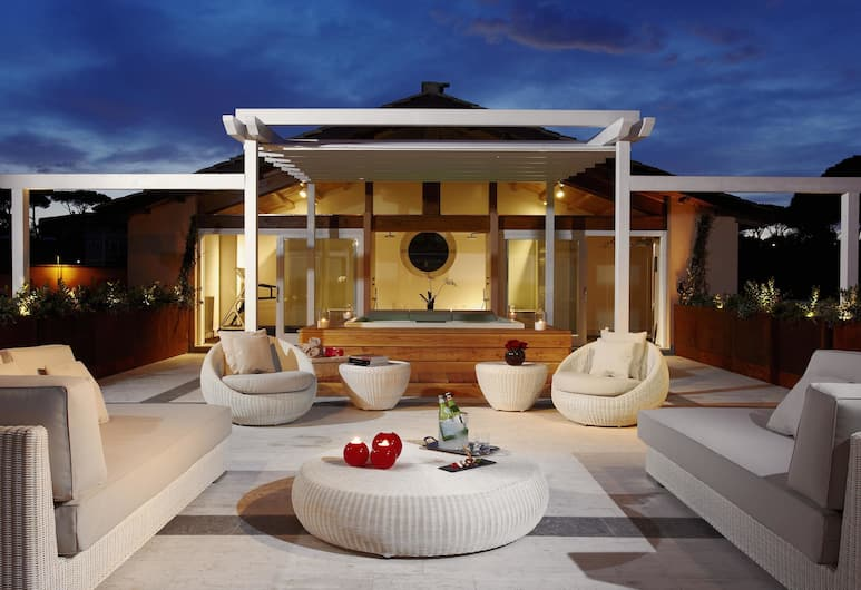 Gran Melia Rome Villa Agrippina -The Leading Hotels of the World, Rome, The Emperor Master Suite Terrace (2 Adults & 2 Children), Terrace/Patio