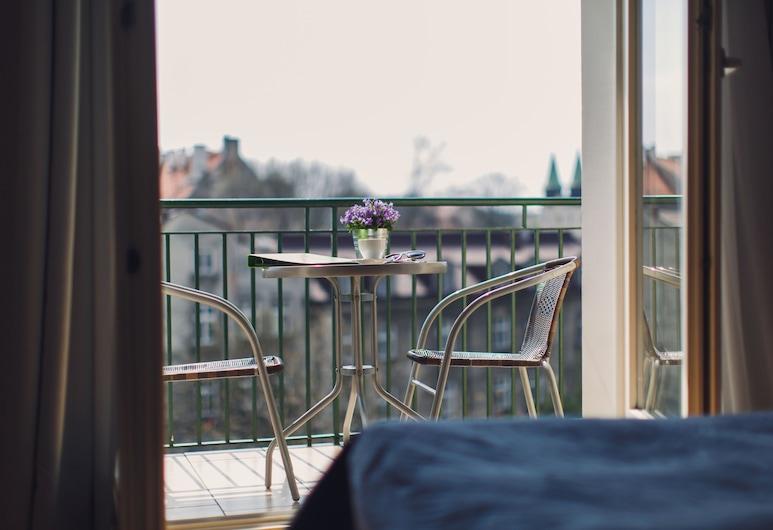 4Seasons Apartments Cracow, Kraków, Apartament typu Deluxe, Balkon