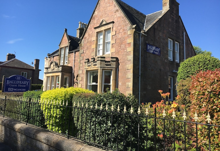 Ballifeary Guest House, Inverness, Hotel Front