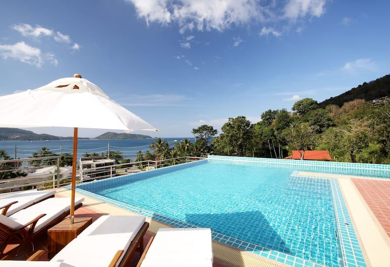 The Baycliff Residence, Patong, Sundeck