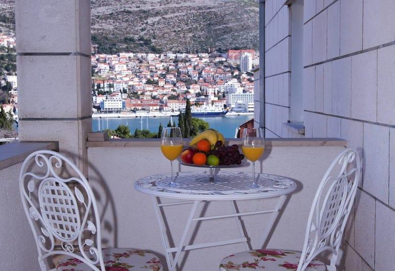 Sunflower Apartment, Dubrovnik, Ekskluzivni apartman, 1 spavaća soba, balkon, Balkon