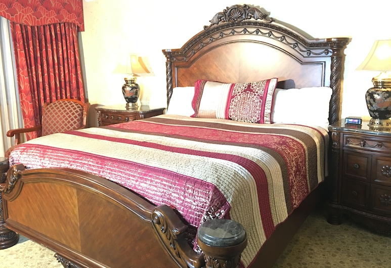 Acorn Motor Inn, Όουκ Χάρμπορ, Σουίτα, Μπανιέρα με Υδρομασάζ, Δωμάτιο επισκεπτών