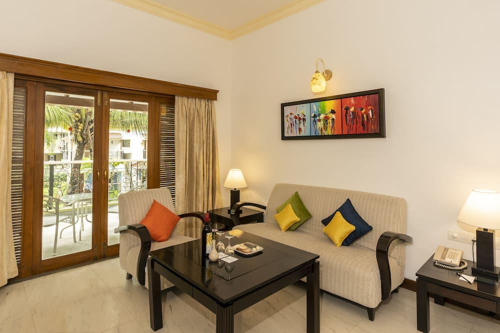Deluxe Suite, 1 Bedroom - Living Room