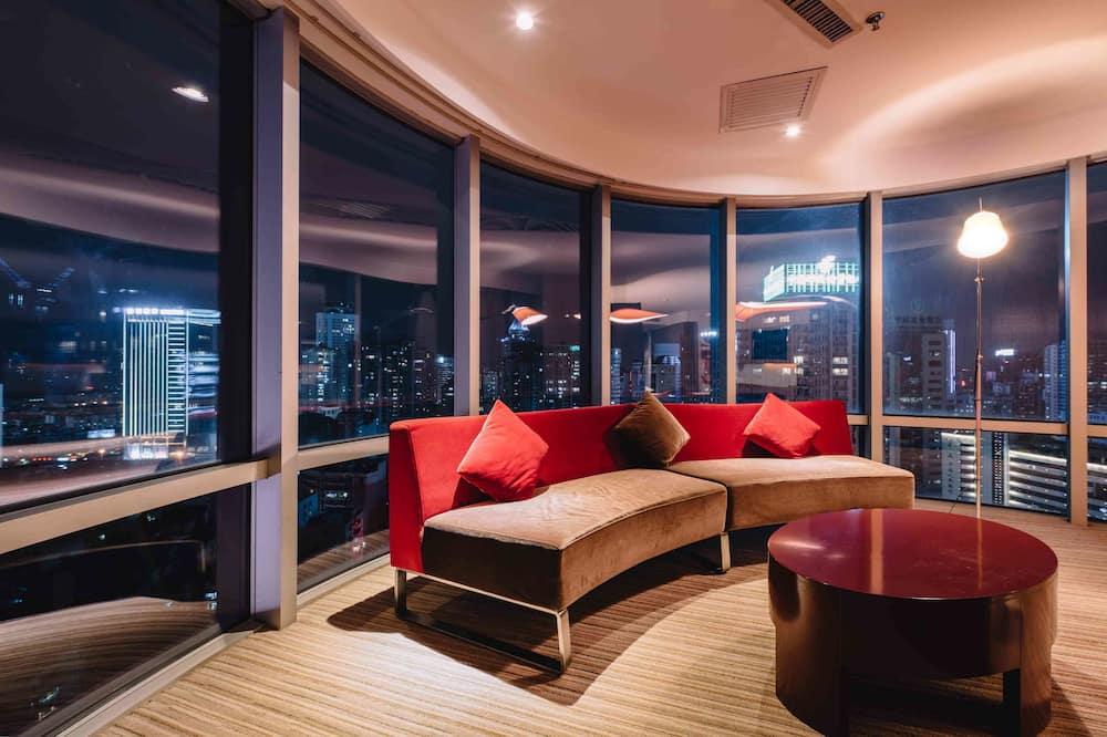 Chambre Deluxe, 1 très grand lit, vue ville - Vue sur la ville