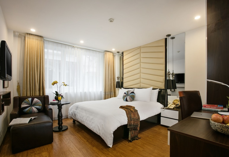 Splendid Holiday Hotel, Hanoi, Family Suite, 2 Queen Beds, City View, Guest Room View