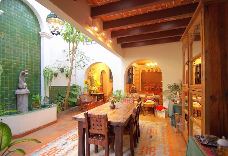 Casa de la Noche, San Miguel de Allende, Ẩm thực