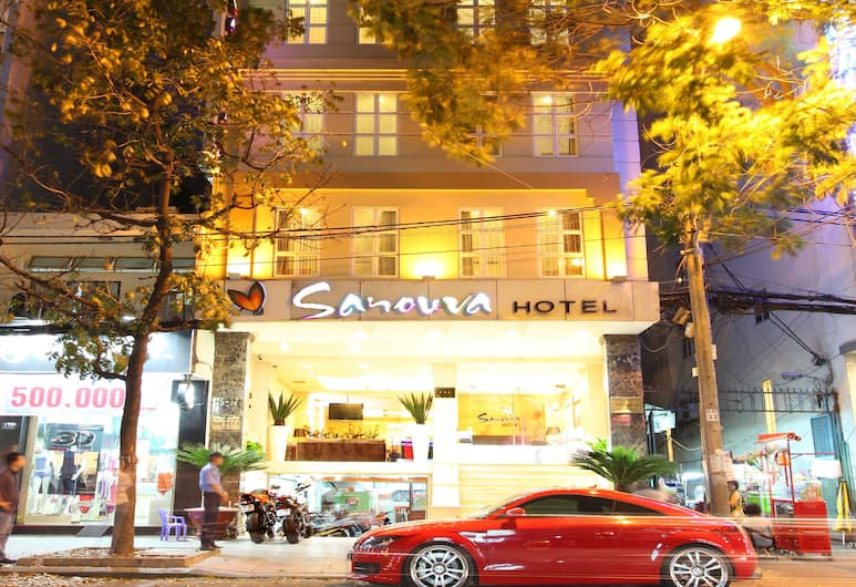 Sanouva Saigon Hotel, Ho Chi Minh City, Hotel Front – Evening/Night