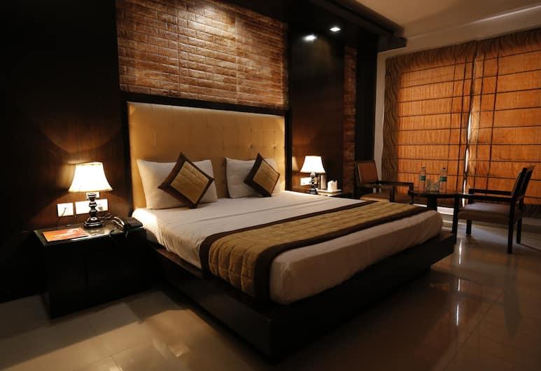 Hotel Delhi Pride, Nuova Delhi, Camera Executive, 1 letto king, Camera