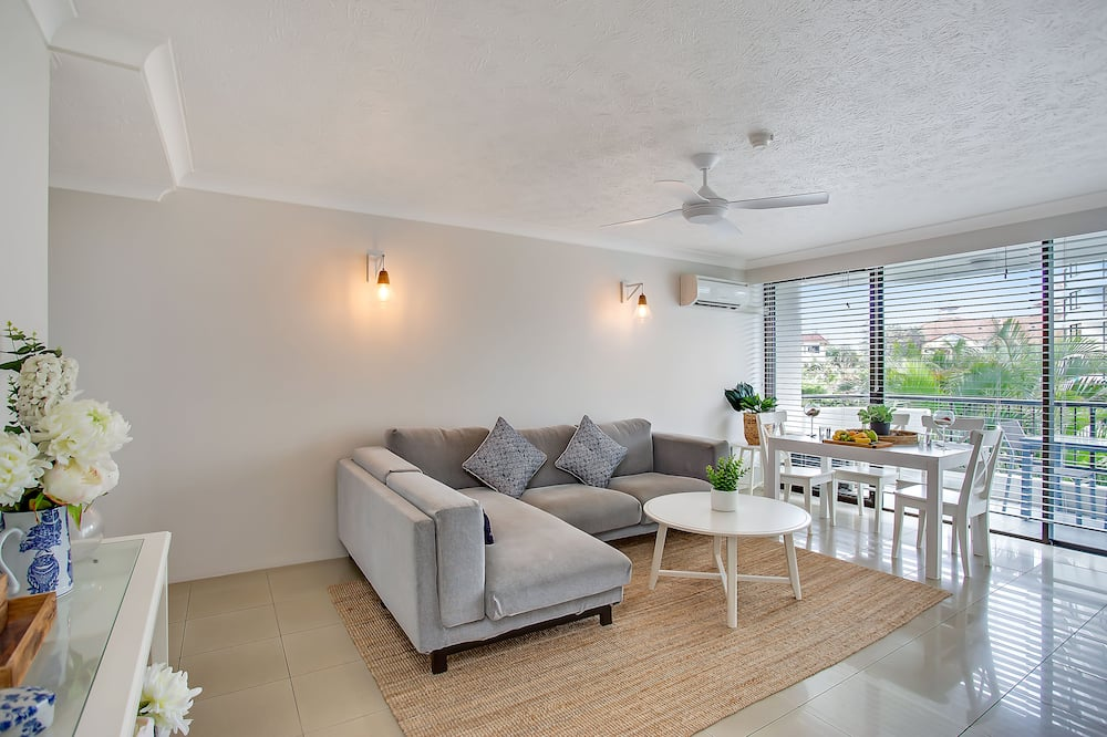 高級公寓, 2 間臥室 - 客廳