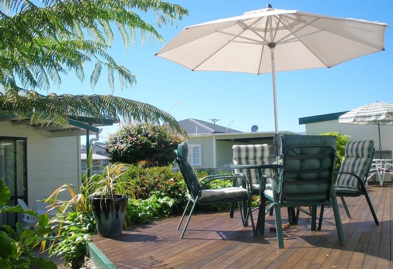Andreas Bed & Breakfast, Whitianga, Suite Standard, 1 chambre, non-fumeurs, balcon, Terrasse/Patio