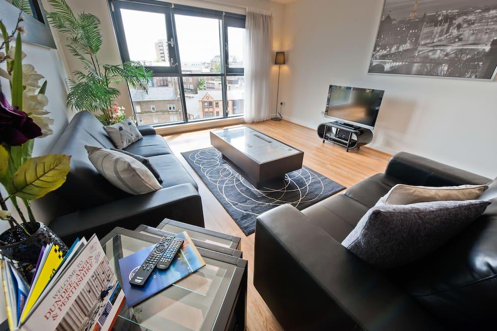 Superior apartman, erkély - Nappali rész