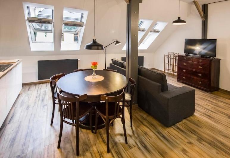 Sewa Apartamenty, Krakow, Family Apartment, Living Room