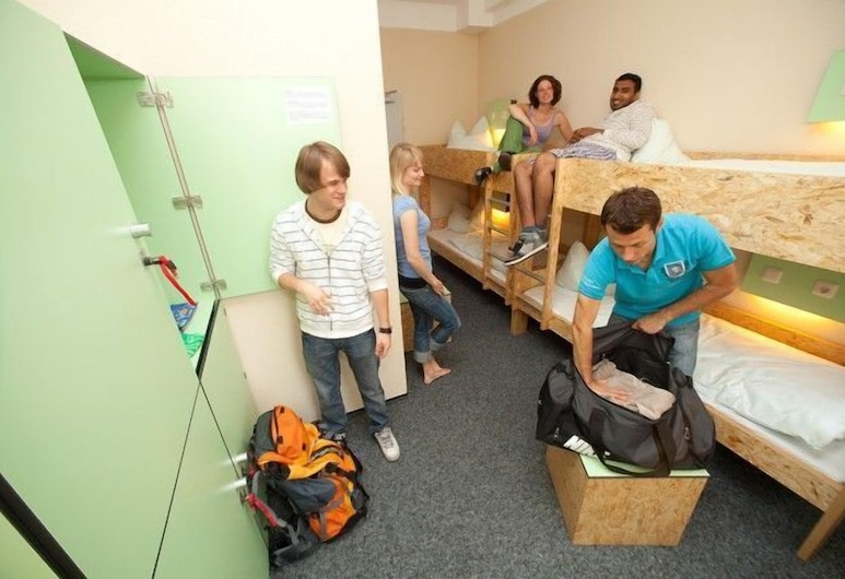 Pathpoint Cologne Backpacker Hostel, Cologne, Shared Dormitory (4 Beds), Guest Room