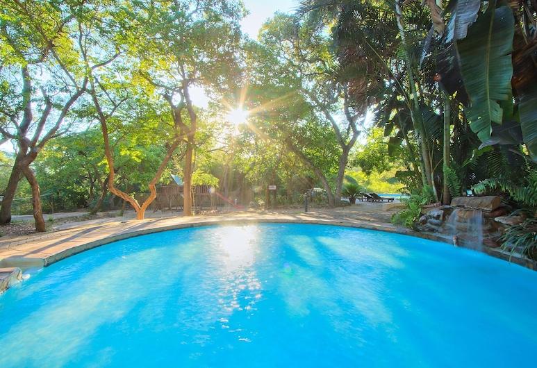 Kruger Adventure Lodge, Hazyview, Vonkajší bazén