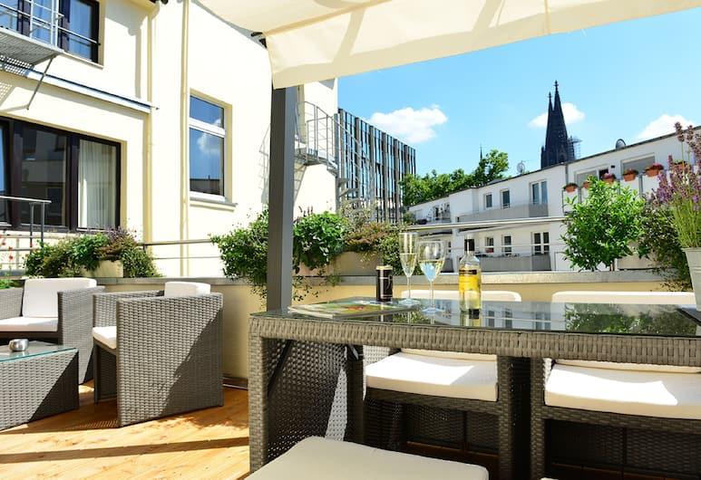 Hotel Domspitzen, Köln, Sonnenterrasse
