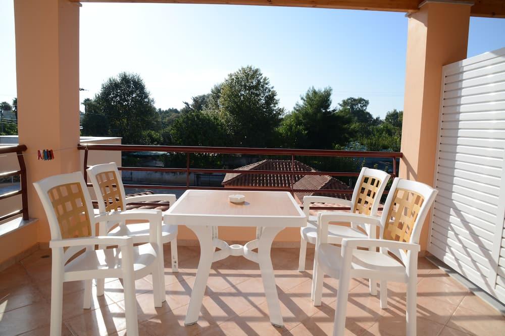 Familienapartment, 1 Schlafzimmer, Turm - Balkon