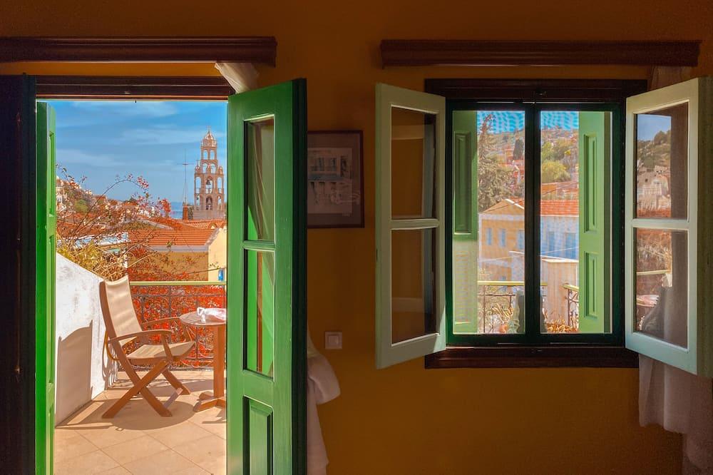 Pokój dla 1 osoby, widok na morze - Balkon