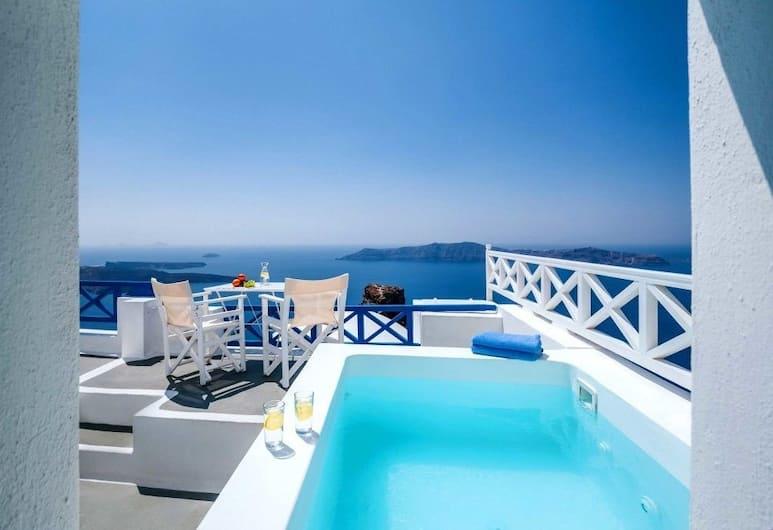 Annio Flats, Santorini, Apartment, Jetted Tub (Volcano View), Terrace/Patio