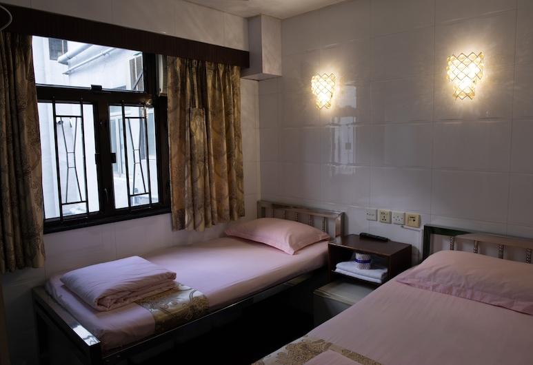 Marco Polo Hostel - Carlton Group of Hostels, Kowloon, Dvojlôžková izba, 2 jednolôžka, Hosťovská izba