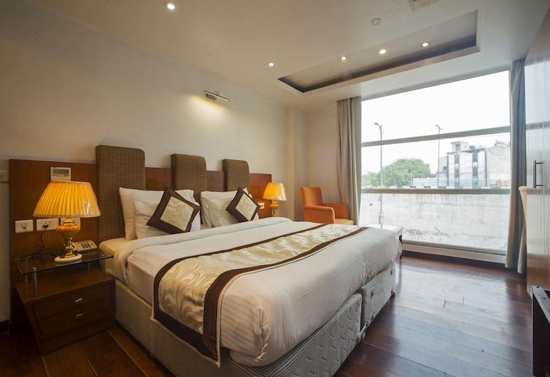 Trimrooms Palm D'or , Yeni Delhi, Superior Tek Büyük Yataklı Oda, Oda