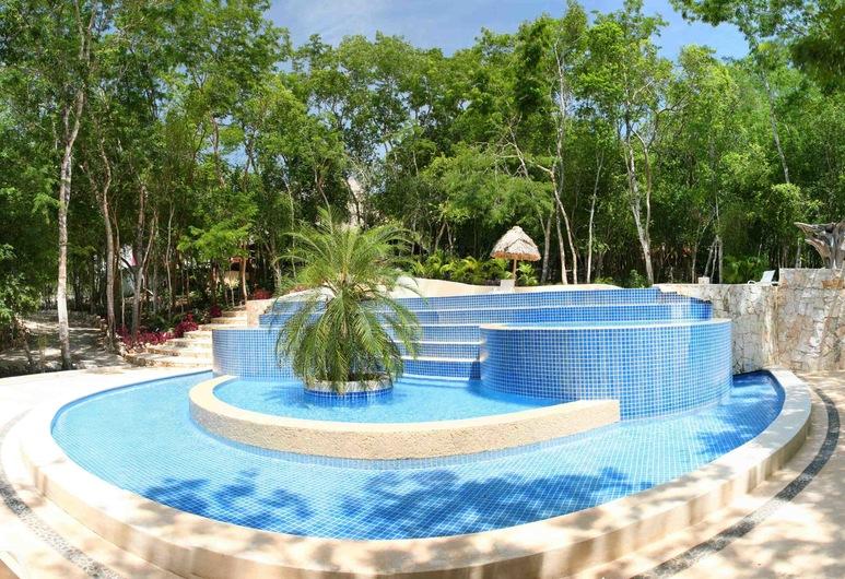 Hotel Okaan, Sitio arqueológico Chichén Itzá, Alberca infantil