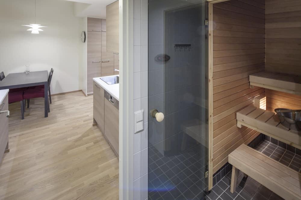 公寓, 1 間臥室, 三溫暖 (2 Annex) - 浴室