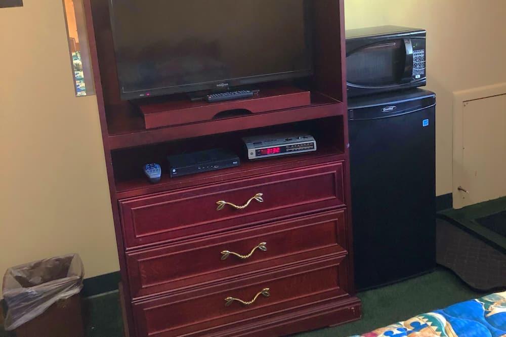 غرفة مزدوجة - سريران مزدوجان - تلفاز