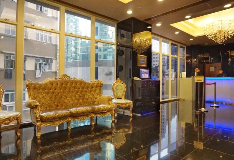 Best Western Hotel Causeway Bay, Hong Kong, Ruang Duduk Lobi