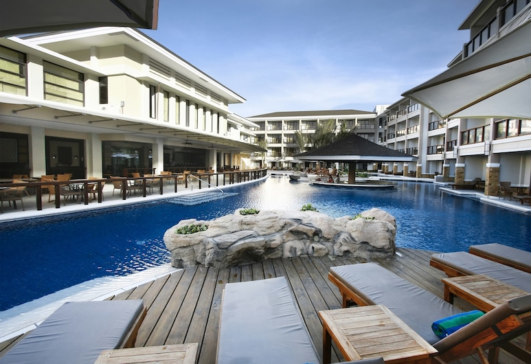 Henann Lagoon Resort, Boracay Island, View from Hotel