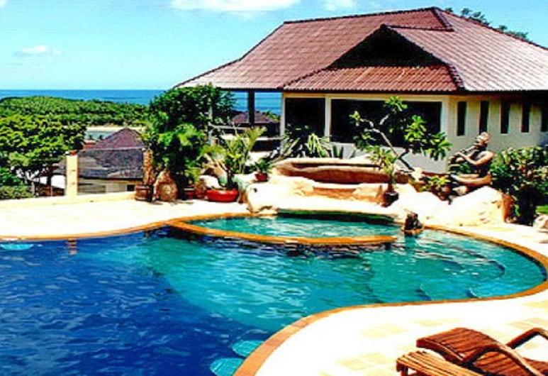 查汶海景度假酒店, 蘇梅島, 泳池