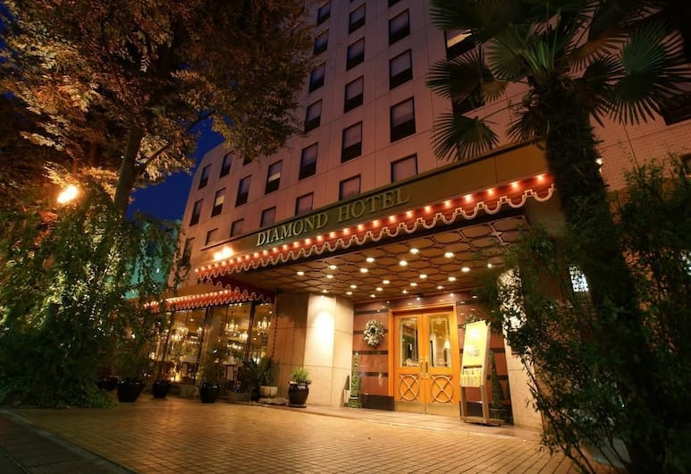 Diamond Hotel, Tokyo, Hotel Front – Evening/Night