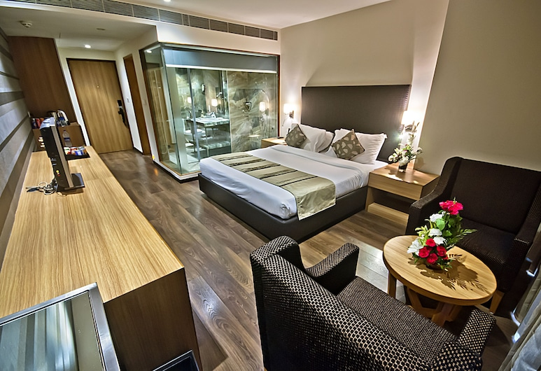 The Grand Bhagwati, Ahmedabad, Deluxe Room, Guest Room