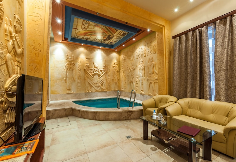 Hotel Cron, Moskwa, Apartament typu Premium Suite (Egypt), Powierzchnia mieszkalna