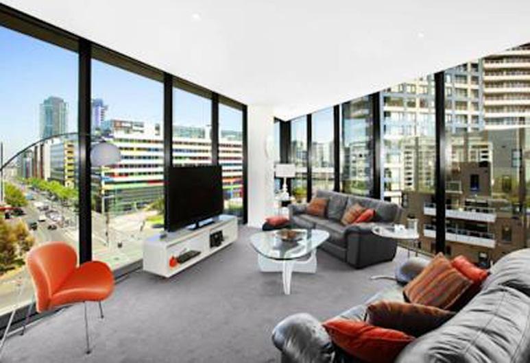 Docklands Executive Apartments, Ντόκλαντς, Executive Διαμέρισμα, 2 Υπνοδωμάτια, Καθιστικό