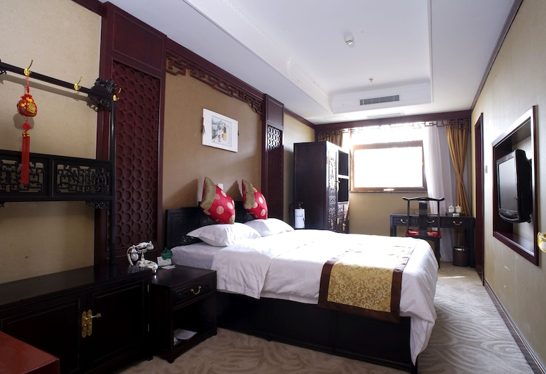 Beijing Ron Yard Hotel, Beijing, Luxury Double Room, Guest Room